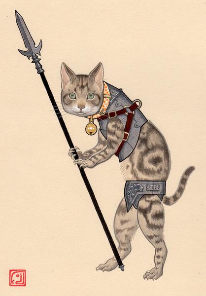 歩兵(猫)
