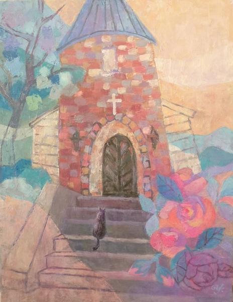 三角屋根の教会Ⅱ