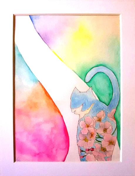 桜猫 -零れ桜-