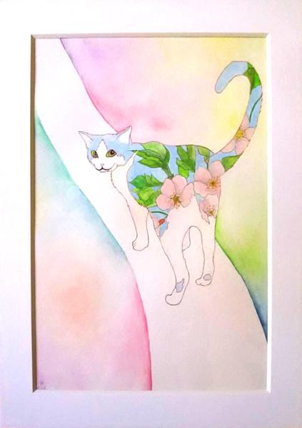 桜猫 -桜流し-