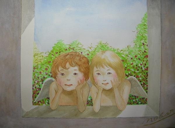 窓辺の天使たち