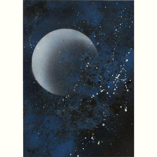 青の夜空20160703
