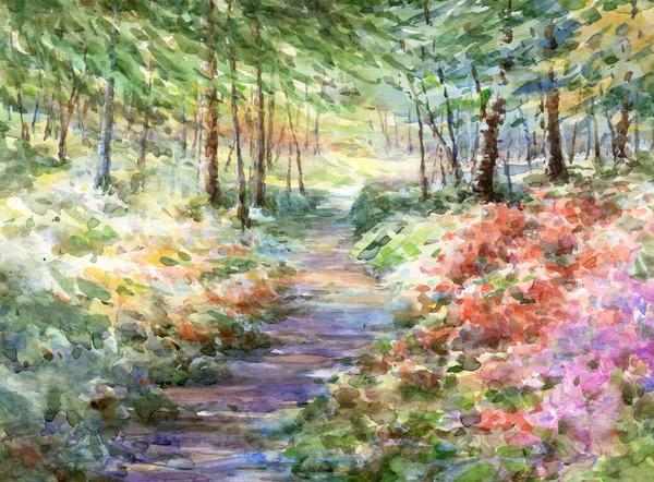 初夏の森2