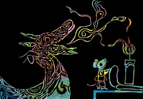 ドラゴンさんとネズミさん
