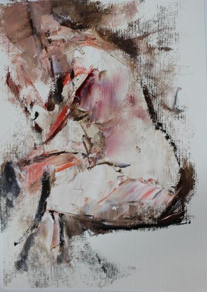 裸婦クロッキー1305