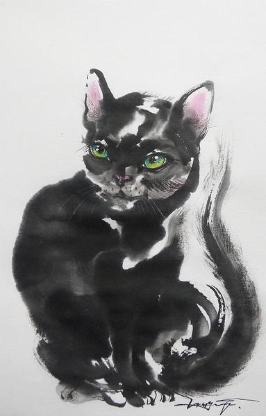 黒い猫2016