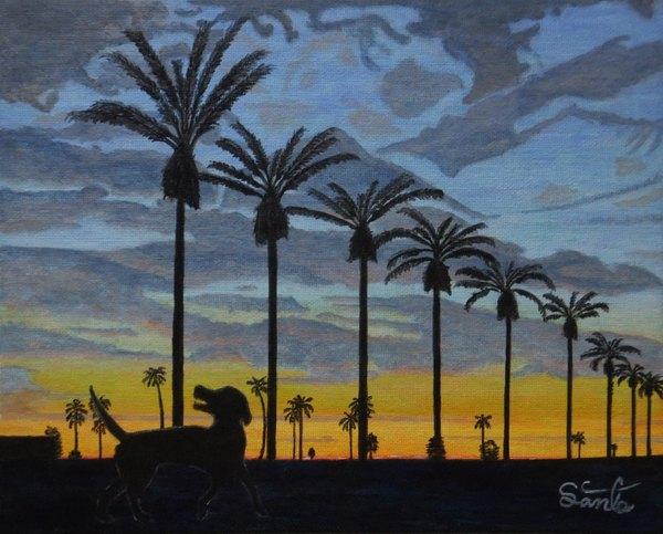 sunset melody #16