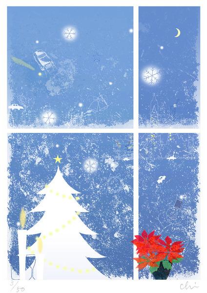 クリスマスの窓辺 (3/50)