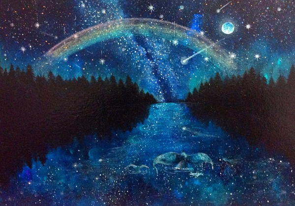 天つなぐ銀河の夜
