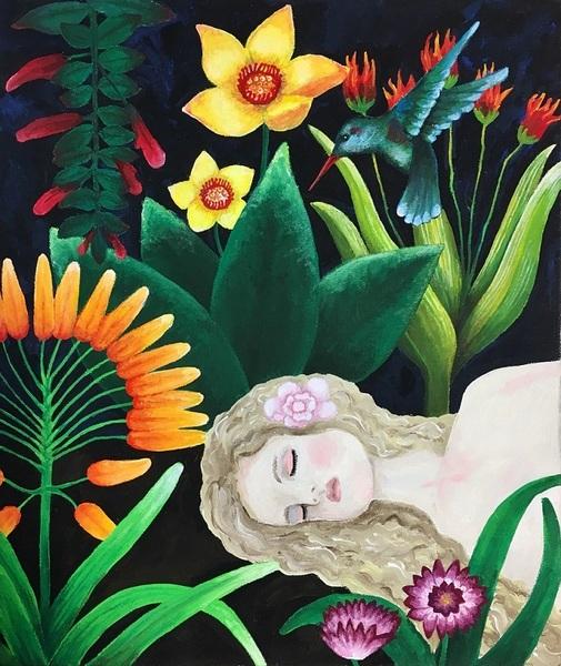南国の眠り姫