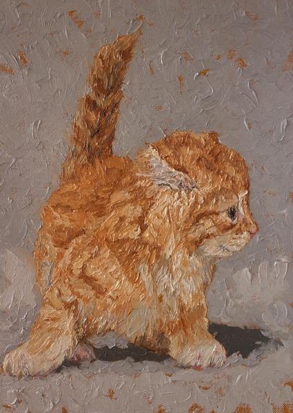 しっぽ 子猫 #181