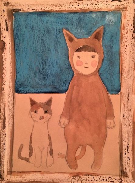 子供と子猫4