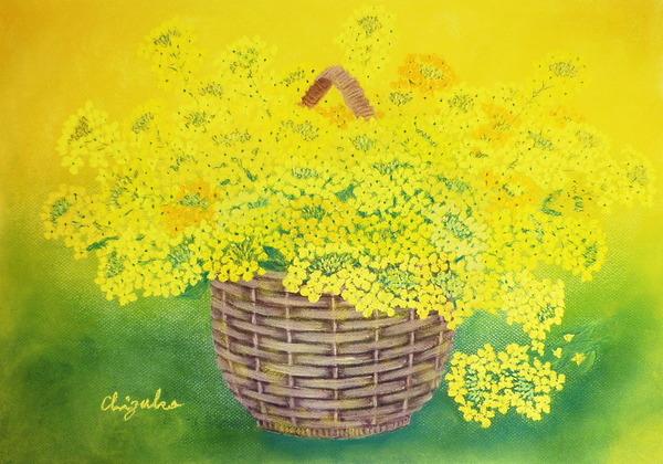篭の菜の花