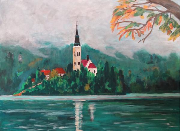ヨーロッパの湖