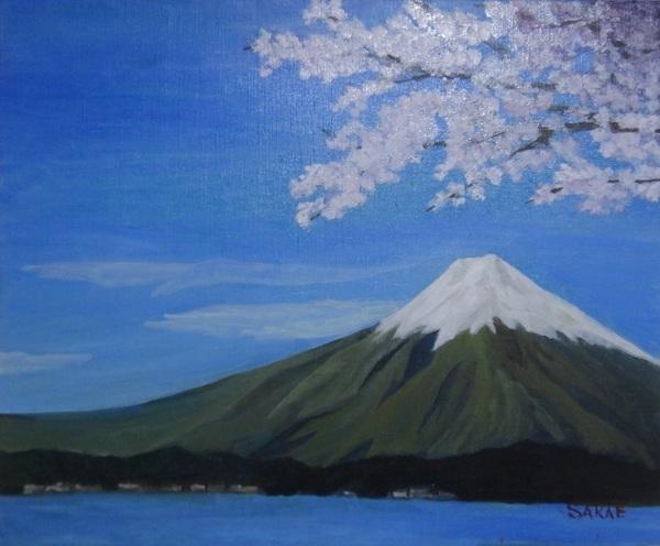 富士と桜 3