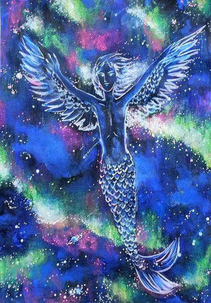 宇宙を駆ける人魚