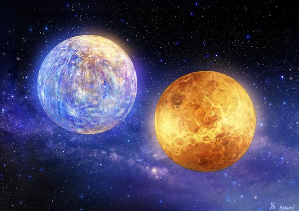 Mercury & Venus 1/5