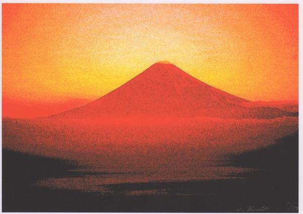 風景画〜富士山(1/50)