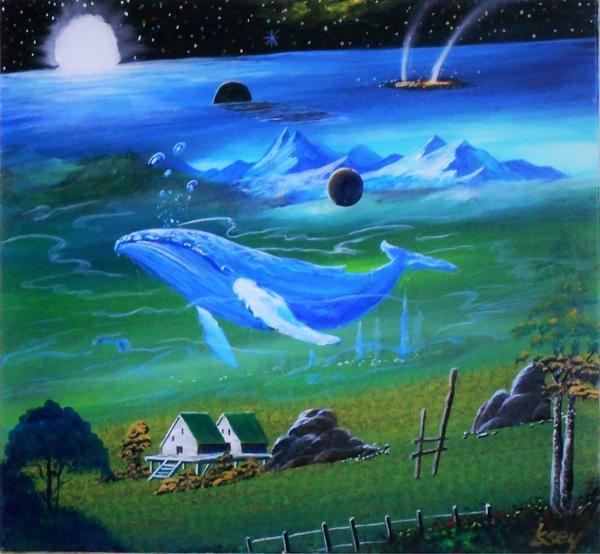 時空のゆがんだ・・・緑の惑星2