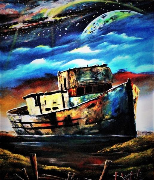 廃船の美しさ