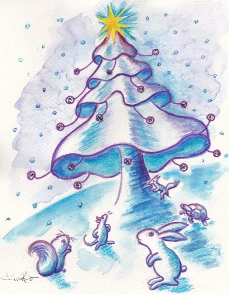 音の生る木 (雪の日)