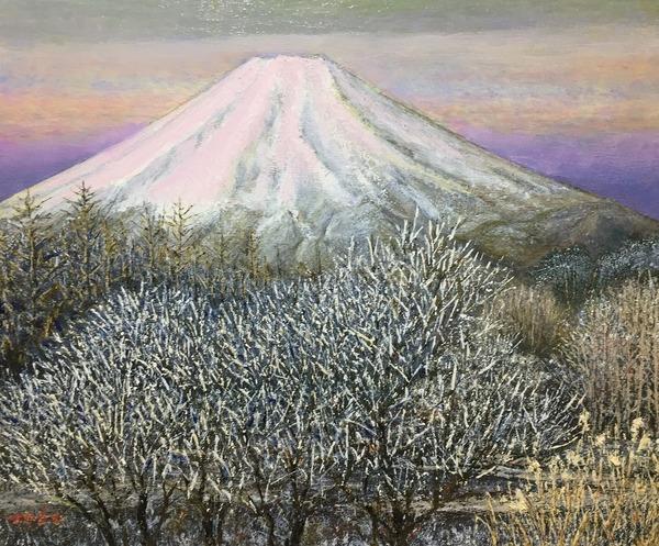 富士のあけぼの 忍野
