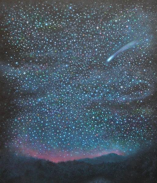 里山の流星