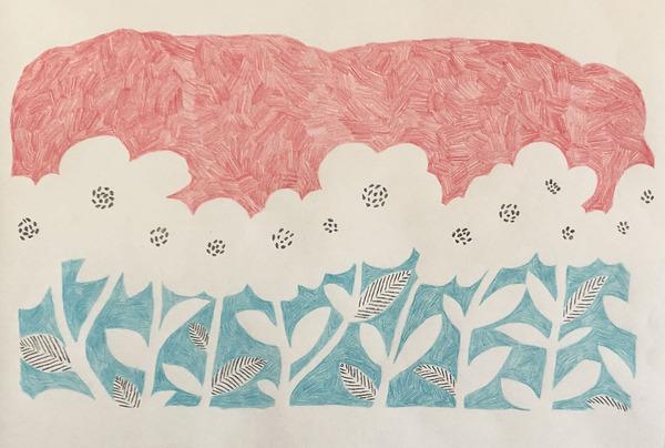 flower garden/April