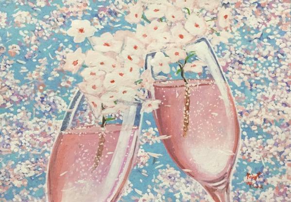 アニバーサリー桜酒2