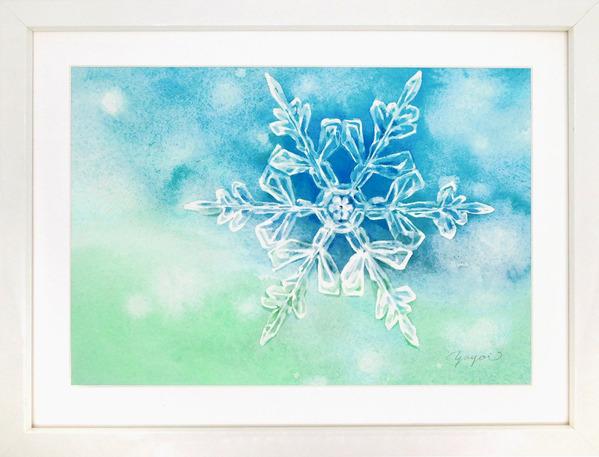 雪の結晶B