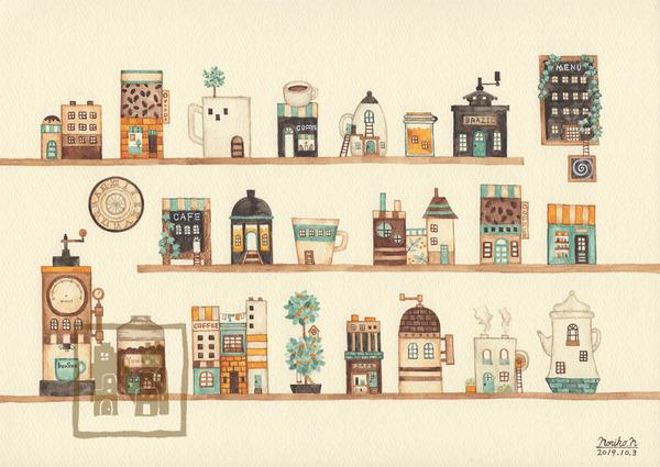 コーヒーの街カタログ