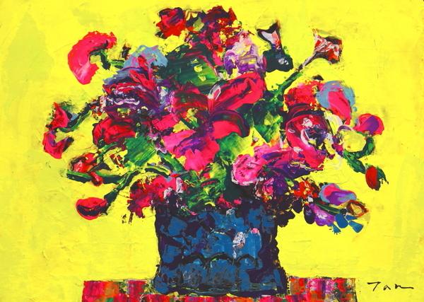 FLOWER(NO.2024)4F額付き