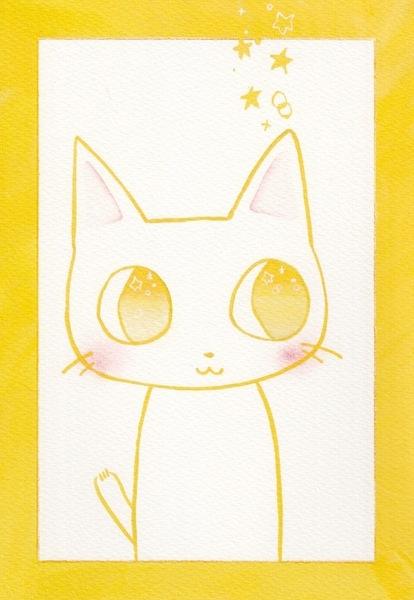 元気なイエロー☆猫