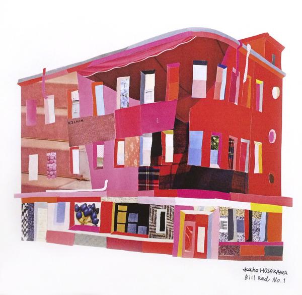 赤い建築物 NO.1