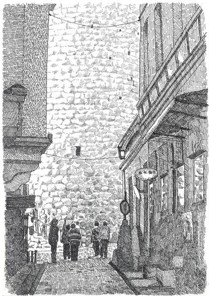 イスタンブールの路地