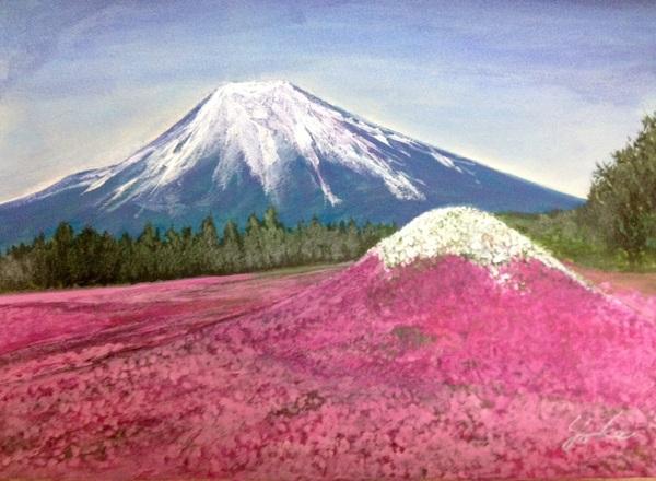 富士山(芝桜)