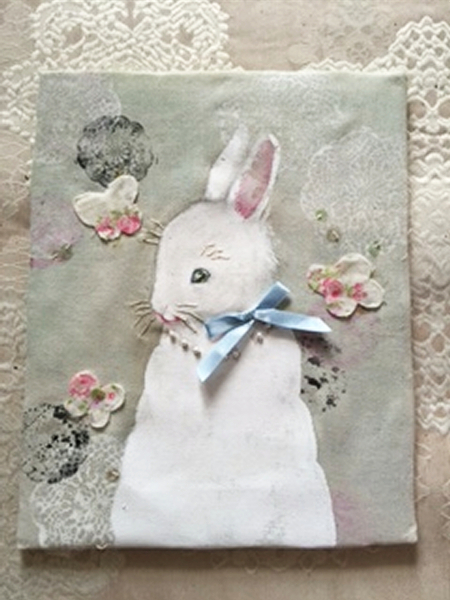 antique bunny