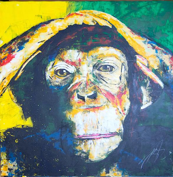 Monkey / モンキー。