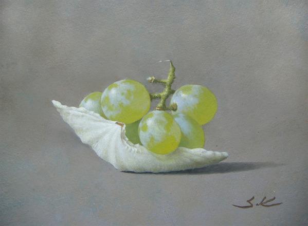 葡萄と貝殻-G16
