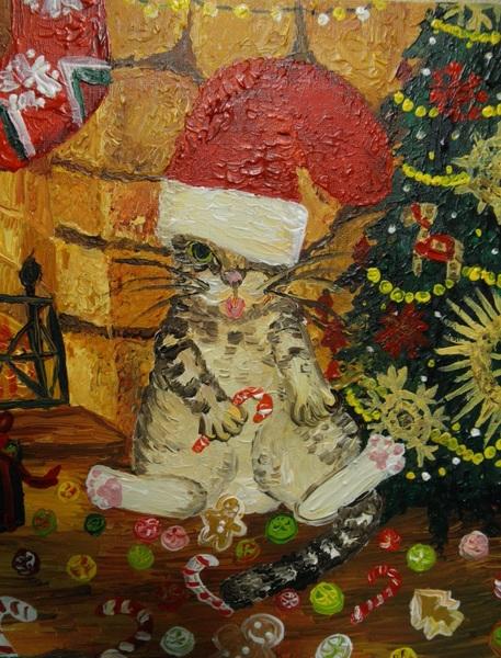 クリスマスの戯れ