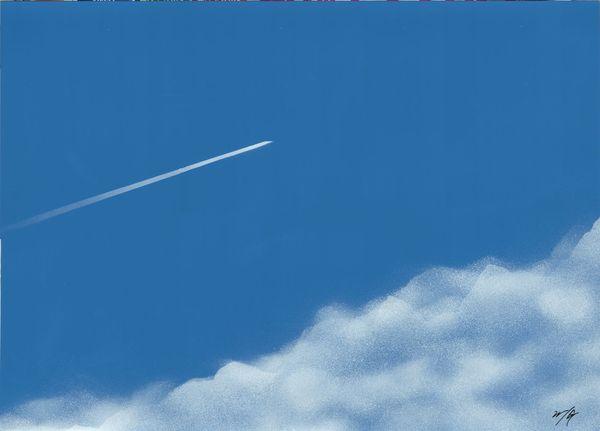 空の青、雲の白20151205