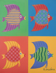 「colorful fish F6」